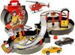 Parking W Walizce Tor OPONA Winda +Auta Helikopter