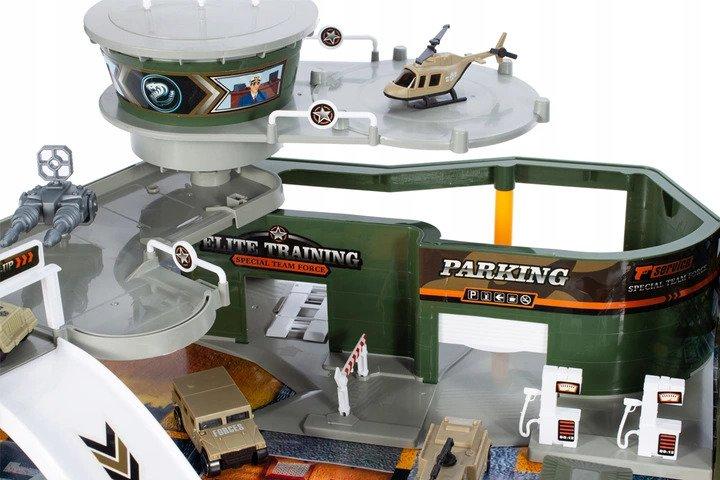 Baza Wojskowa LOTNISKO czołg SAMOLOT + ŻOŁNIERZYKI Zabawki